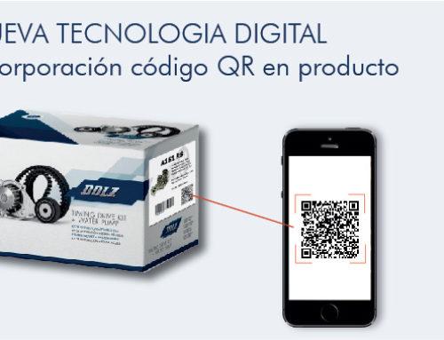 Nueva tecnología digital: Código QR en producto